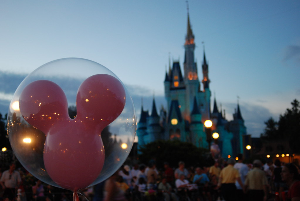 Magic Kingdom balloon