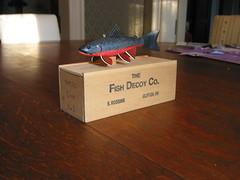 Small Wooden Box (Ed Lamaze) Tags: woodenbox fishdecoy daddyshackscavengerhunt