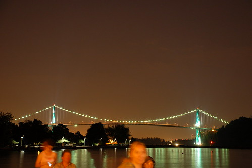 Lions Gate Bridge from Ambleside