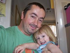 Spotty and Daddy of Spotty! (Tony Fox) Tags: maddie tony chickenpox