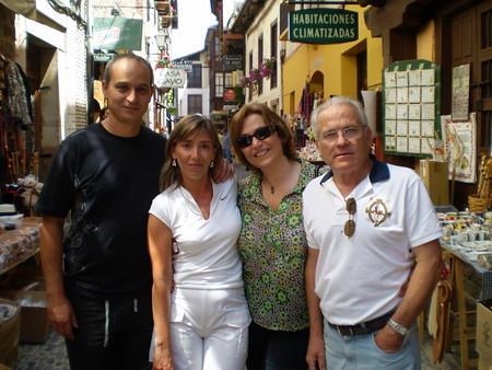 Maria, David, J.Luis y Auro