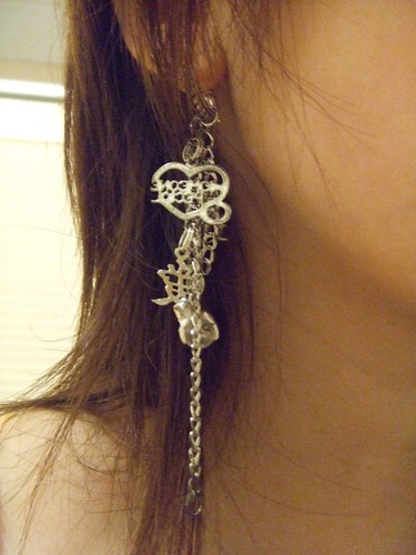 Bracelet, worn as earring
