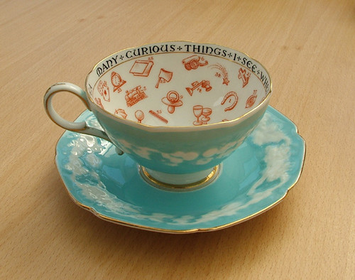 Paragon Fortune Telling Teacup by Beads By Laura