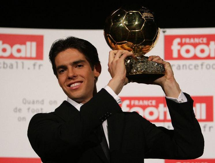 Kaka - Ballon d Or 2007