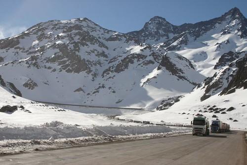 Altitude: 3.020m. Near Túnel del Cristo Redentor, Chile/Argentina.