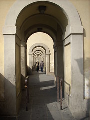Corridoio Vasariano (fondelli.nadia) Tags: florence firenze uffizi arno toscana festa toskana corridoiovasariano