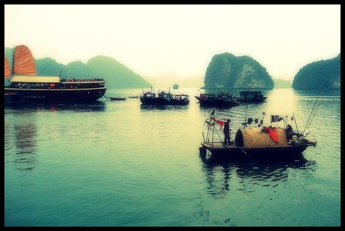 The Misty Mountains of Halong Bay