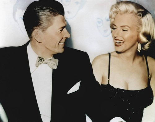 "Ronald Reagan & Marilyn Monroe ""Happy Birthday Mr. President"""