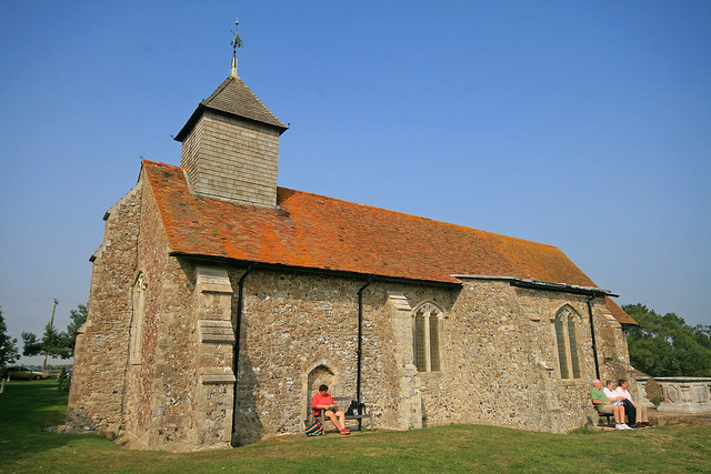 Church of St Thomas the Apostle Isle of Harty Kent by Jelltex