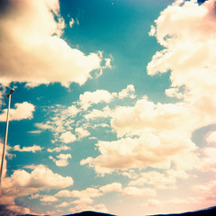 Per la stessa ragione del viaggio viaggiare (Ilaria ♠) Tags: 6x6 mediumformat holga xpro nuvole crossprocess toycamera cielo croazia medioformato toycamerafotografiaanalogicaitalia fujisensiaii100ra