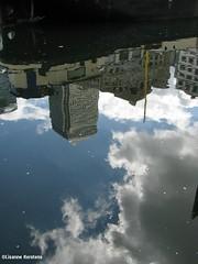 Reflection (lisannekerstens) Tags: greatbritain england reflection london unitedkingdom docklands engeland londen weerspiegeling reflectie grootbrittanni verenigdkoninkrijk
