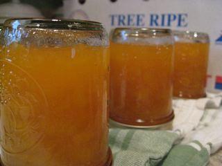 Peach-Rosemary Jam
