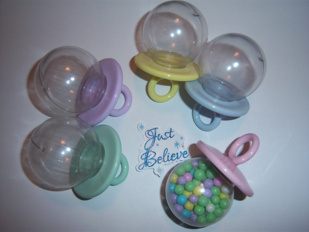 Pacifier Wilton Baby Shower Favors 20 Assorted 2.5""