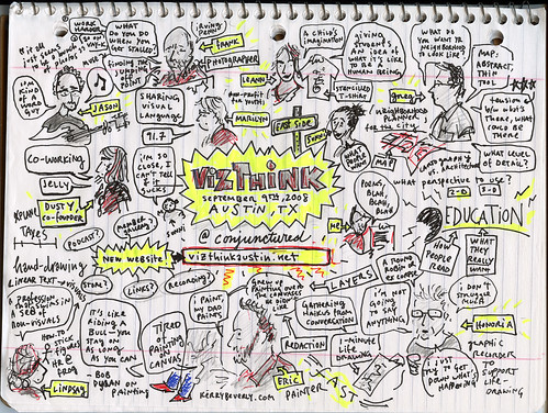 Austin's graphic recording of the meeting