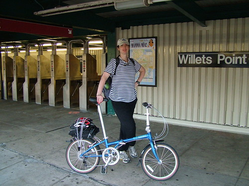 Me and My Dahon Folding Bike