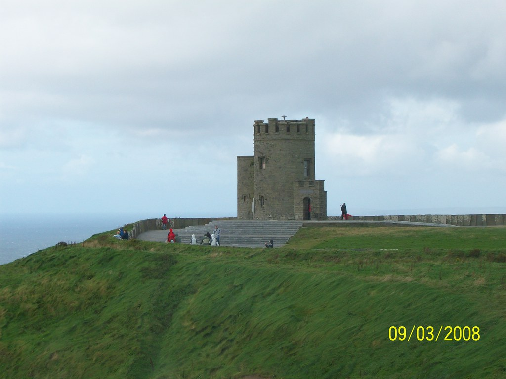Ireland - Cliffs of Moher - O'Briens Tower