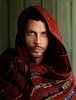 The Eyes of Aaron (aknacer) Tags: red man color eyes greeneyes textile national geographic nationalgeographic inspiredby vision1000 visiongroup vision100 aaronnace