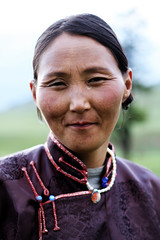Mongolian Mother