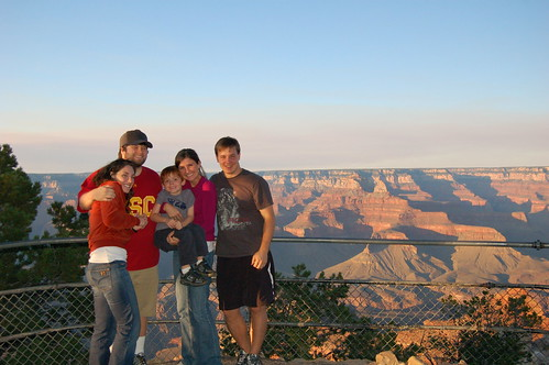 Grand Canyon Family Picture