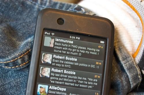 Twitter en un iPod