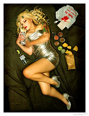 Sparkly D. - Skycam Burrito Princess Centerfold for Scene Mag 2008 (merkley???) Tags: sanfrancisco california portrait usa sarah darkroom photoshop saturated photoshopped scene plastic portraiture safe oversaturated burlesque retouched guardian excess airbrush toomuch centerfold overdone airbrushed digitaldarkroom threequestionmarks threequestionmarkscom merklefied merklefication