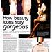 Hilary Rhoda in British October Glamour Magazine