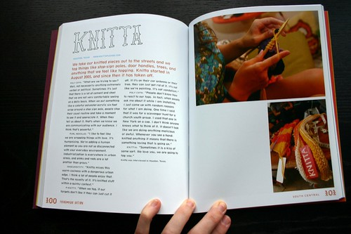 Handmade Nation: Knitta feature
