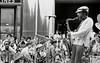 Jimmy Heath with audience at Rockerfeller Center (Tom Marcello) Tags: photography jazz saxophone jazzmusicians jimmyheath jazzplayers jazzphotos jazzphotography heathbrothers jazzphotographs tommarcello
