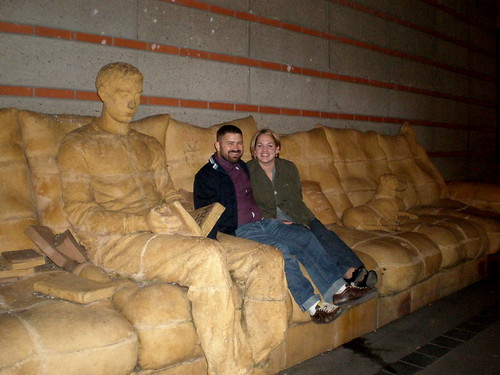 Big Couch Sculpture