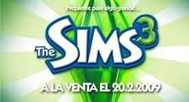 ¡Sims 3 en febrero del 2009!