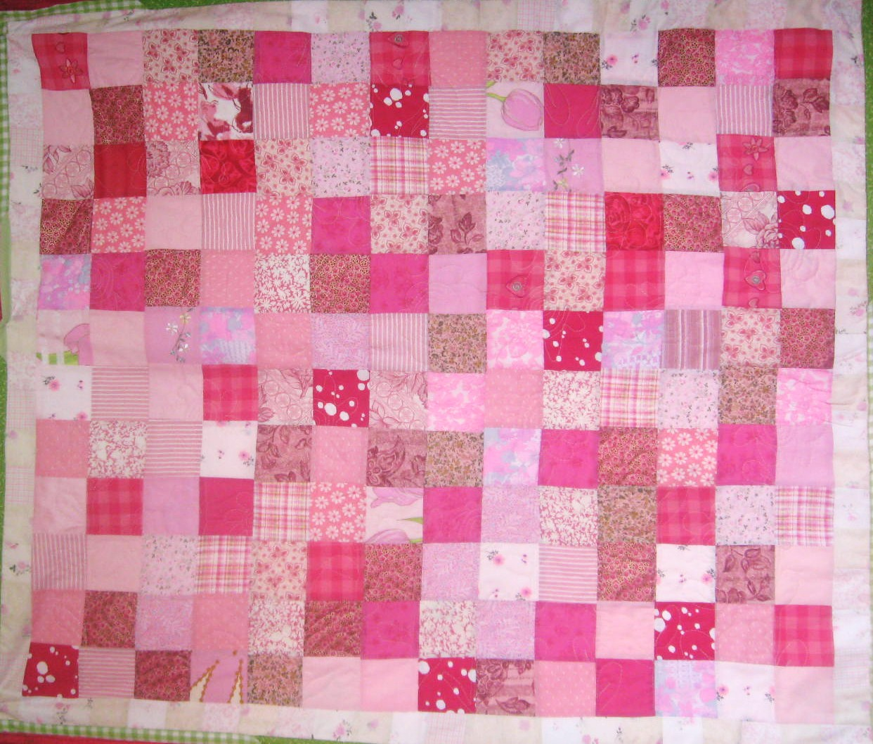 Verry Sherry: Payback with Pink Patchwork : pink patchwork quilts - Adamdwight.com