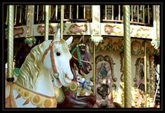 """IMGP1685  """"Manège du Pouliguen"""" (egoteabs) Tags: pentaxk10d k10d hfrp1 smcpentaxfa31mmf18ltd aficinonados justpentax horse cheval aficionados chevauxdebois roundabout"""