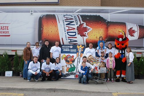 Molson and Onkel Hans Food Drive