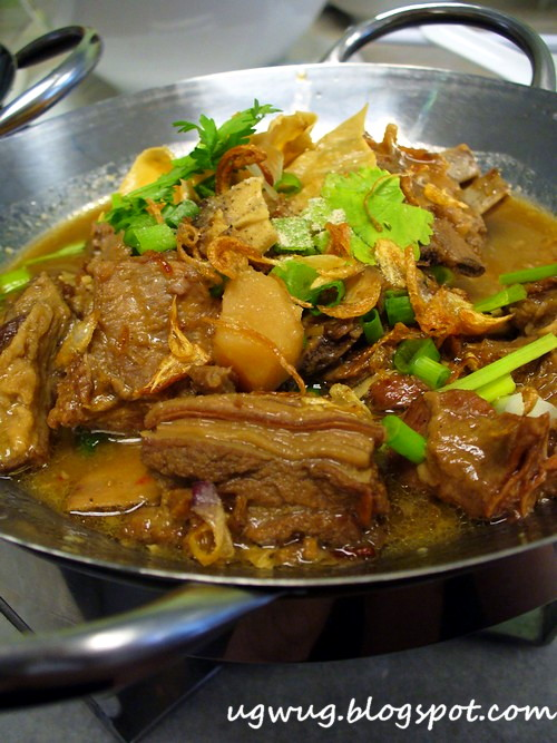 Braised Lamb in Hot Wok
