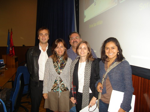"""Mesa """"Mantener el contacto: Blogs e Inmigración"""""""