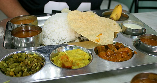 Southern Indian rice set