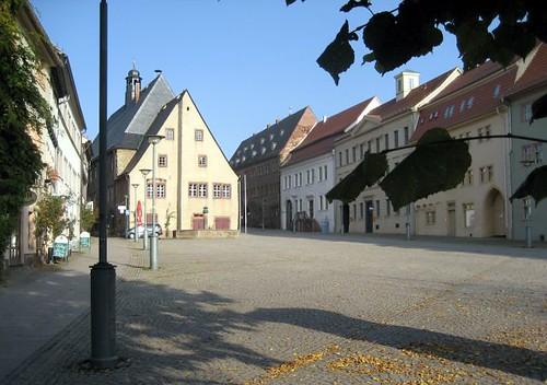 Sangerhausen/Südharz, Markt mit Palaverhaus