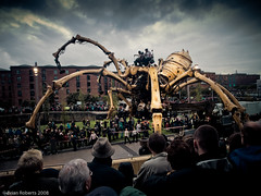 La Princesse (A Slight Return) (Brian Roberts Images) Tags: liverpool spider albertdock lamachine anawesomeshot arealgem damniwishidtakenthat wwwbrianrobertsimagescom