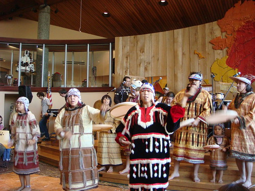 Alaska Native Heritage Center por geefour907.