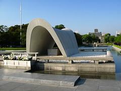 Peace Memorial Park (jhandelman) Tags: travel japan canon asian asia powershot hiroshima atomicbomb g7