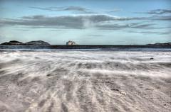 Yellowcraigs beach (elementalPaul) Tags: sky beach clouds island sand pentax tripod hdr gullane firthofforth yellowcraigs gullanebeach photomatixpro 5xp k10d pentaxk10d