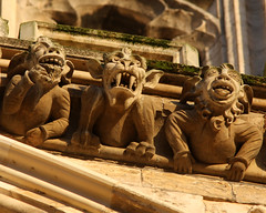 Minster Monsters (Mark_Coates) Tags: york copyright monster stone cathedral c carving medieval gargoyle monsters gargoyles minster allrightsreserved mediaeval markcoates gmcoates availableforuseunderlicense gmc1jun2013 donotuseinblogwithoutexpresspermission