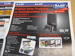 Sony Playstation 2 bei Aldi