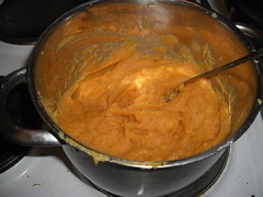 Sweet potato purée..the best mash I've had