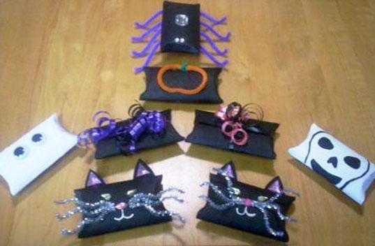 Wenona Napolitano Various Halloween Treat Boxes