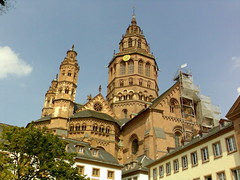 St. Martin's Cathedral (lanalanalana) Tags: germany mainz rhineriver