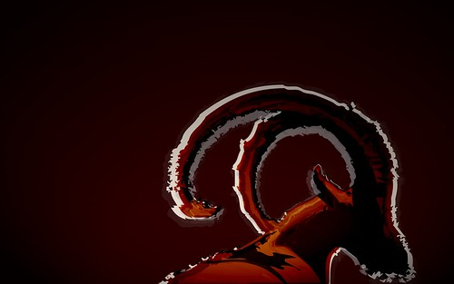 Ubuntu 8.10 Intrepid Ibex Wallpapers - abstractibex_rich