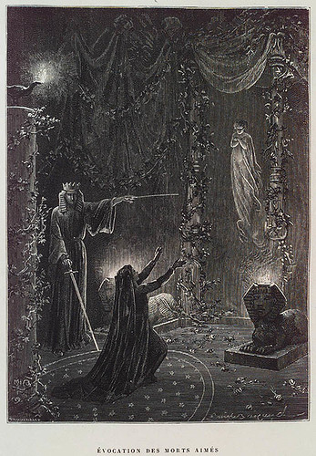 009- Evocación de los muertos amados- P. Christian. Histoire de la Magie 1884