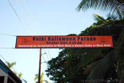 Lahina Keiki Halloween Parade