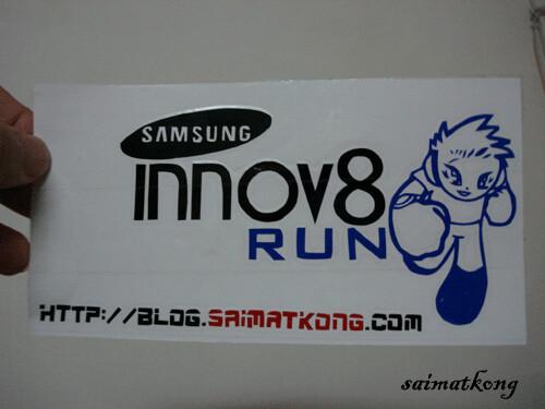 Samsung Innov8 Stickers